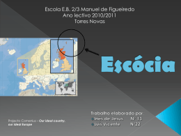 Escócia - Europe4you