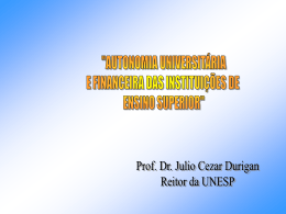 Prof. Dr. Julio Cezar Durigan