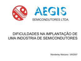 Dificuldades na implantação de uma indústria de