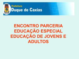 COORDENADORIA DE EDUCAÇÃO ESPECIAL