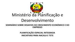 Ministério da Planificação e Desenvolvimento
