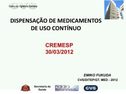Slide 1 - Cremesp