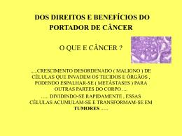 Pac port de Câncer direitos