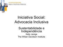 Kelly Janiga - Iniciativa Social