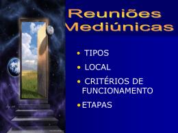REUNIAO MEDIUNICA
