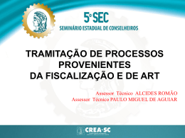 Minicurso III - Tramitação de Processos I