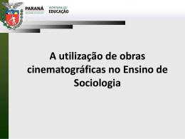 O Filme. - Sociologia
