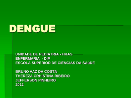 DENGUE - Paulo Roberto Margotto