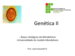 Genética II 2012