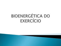 1 - bioenergética