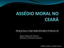 Regina Heloisa M O Maciel e Rosemary Cavalcante