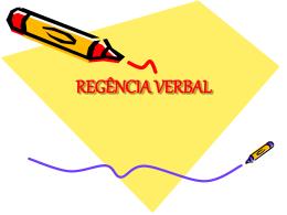 REGÊNCIA VERBAL - Webgiz