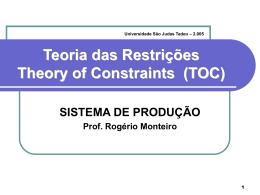 Teoria das Restrições ()