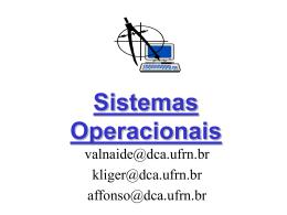 Sistemas Operacionais - DCA
