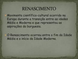 RENASCIMENTO - CAV.