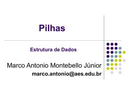 Pilha - Objetivo Sorocaba