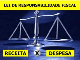 receita despesa lei de responsabilidade fiscal