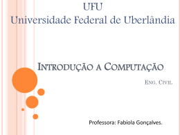 If-switch - Alunos - Facom - Universidade Federal de Uberlândia