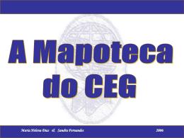Apresentação da Mapoteca em Powerpoint
