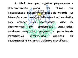 clicando aqui - APAE Palmital