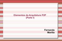 Elementos da Arquitetura I (ppt Marília e Fernanda)