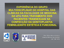 Projeto Transexualismo HC .power point