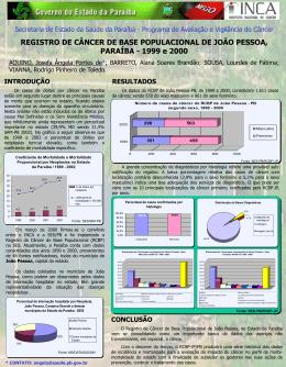 Apresentação do PowerPoint - Secretaria de saúde da Paraíba