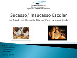 Sucesso/ Insucesso Escolar