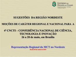 Estadual Pernambuco(Moções)