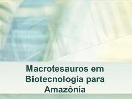 ProjetoTesauro - Apresentação