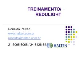 TREINAMENTO/ REDULIGHT