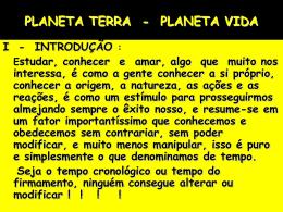 terra - planeta vida