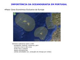 História da Oceanografia