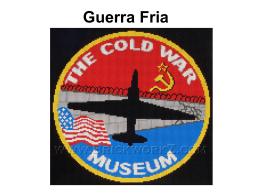 Guerra Fria - Slides Completos 1946 - 1991