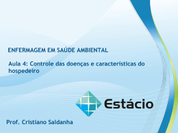 enfermagem em saúde ambiental