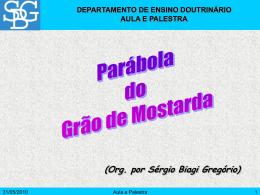 Parábola do Grão de Mostarda