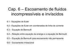 Cap-6-Escoamento de fluidos incompressíveis e invíscidos