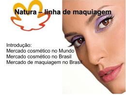 Natura – linha de maquiagem