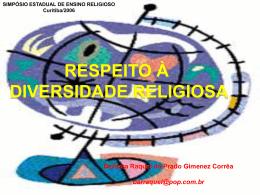 SIMPOSIO DIVERSIDADE - ensinoreligiosonreapucarana