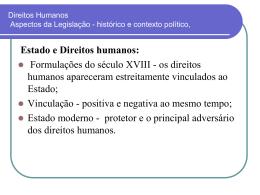 Estado e Direitos Humanos