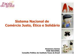 Comércio ético e solidário