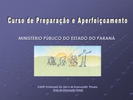 III Curso de Preparação e Aperfeiçoamento para Promotores de