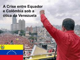 Venezuela_Apresentacao - Acadêmico de Direito da FGV