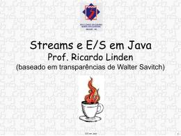 E/S em Java - Algoritmos Genéticos, por Ricardo Linden