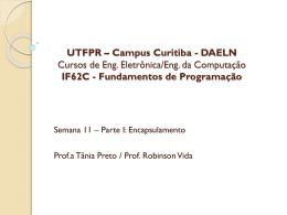 IF62C - Fundamentos de Programação