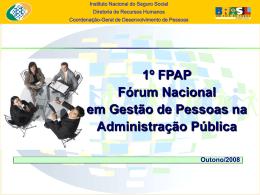 Instituto Nacional do Seguro Social Diretoria de - ABRH-DF