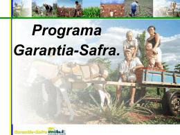 Programa Garantia-Safra