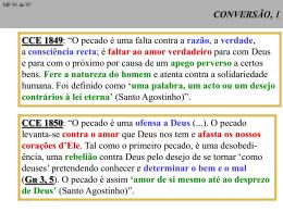A conversão do pecador