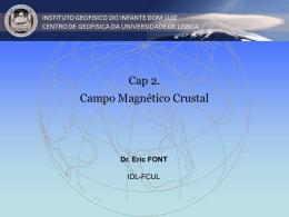 Cap. II. O Campo Magnetico da Crosta