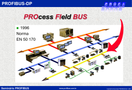 Tecnologia Profibus DP - Associação PROFIBUS Brasil